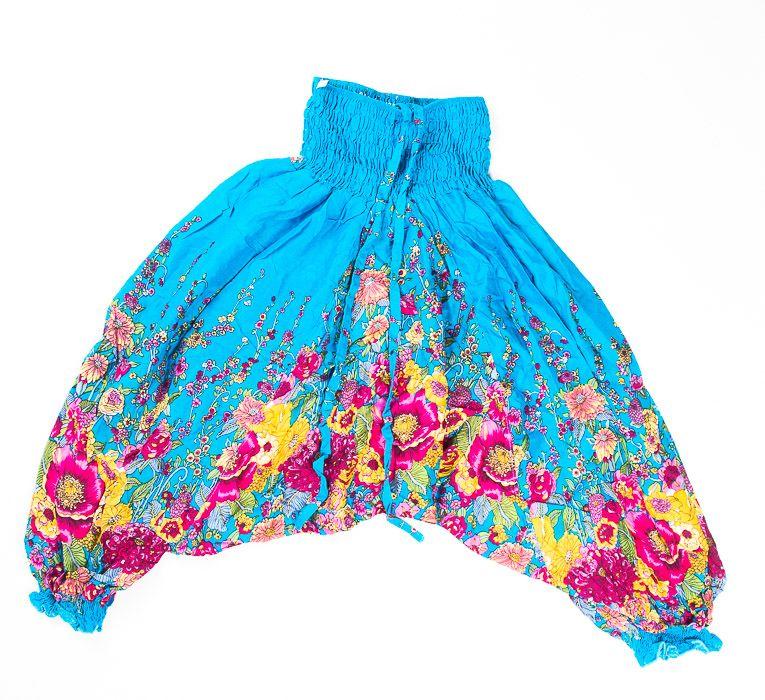 Dětské letní turecké kalhoty harémové BABY ORIGIN vel. 8 TT0103 01 012