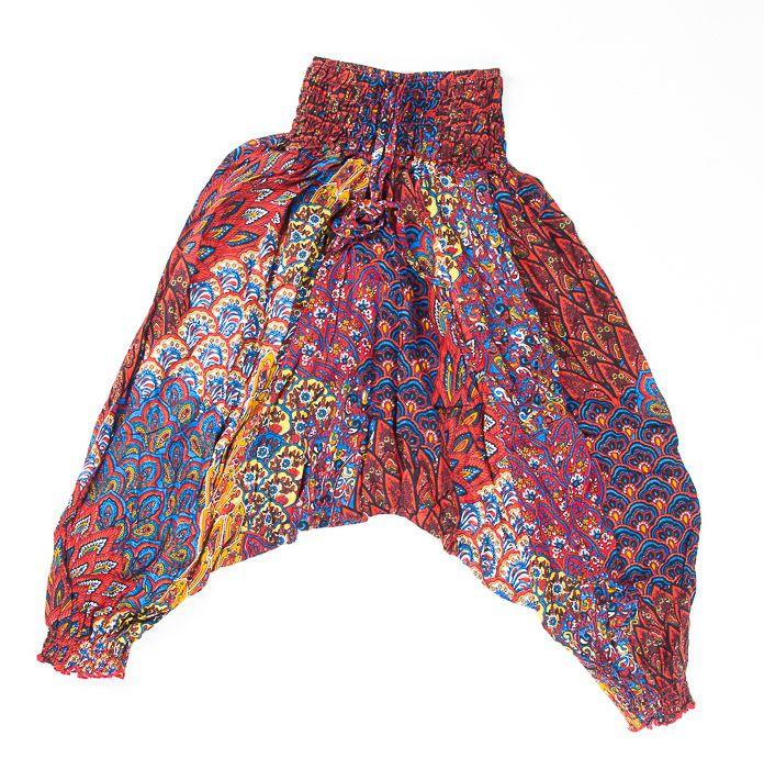 Dětské letní turecké kalhoty harémové BABY ORIGIN vel. 8 TT0103 01 014