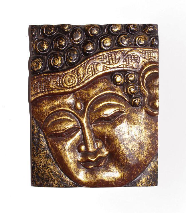 Dřevěná nástěnná dekorace vyřezávaná 40 x 30 cm ID0039