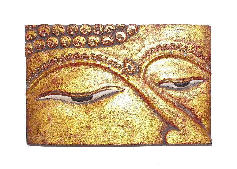 Dřevěná nástěnná dekorace vyřezávaná 60 x 39 cm ID0116 01