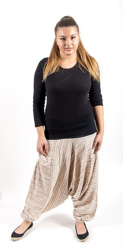 Kalhoty ALADIN TEX, bavlna Nepál NT0096 10 001 KENAVI