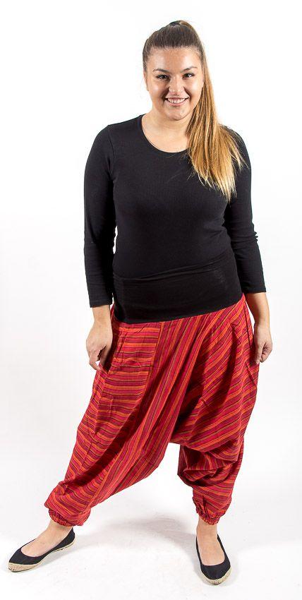 Kalhoty ALADIN TEX, bavlna Nepál NT0096 10 003 KENAVI