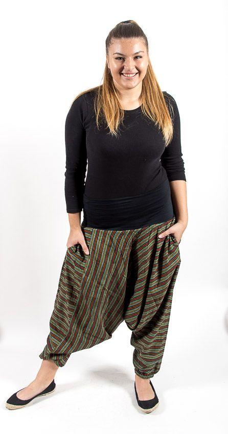 Kalhoty ALADIN TEX, bavlna Nepál NT0096 10 004 KENAVI