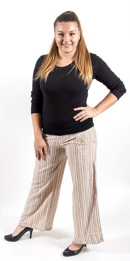 Kalhoty TEX, bavlna Nepál (dole ztahovací nohavice) NT0096 09B 002 KENAVI