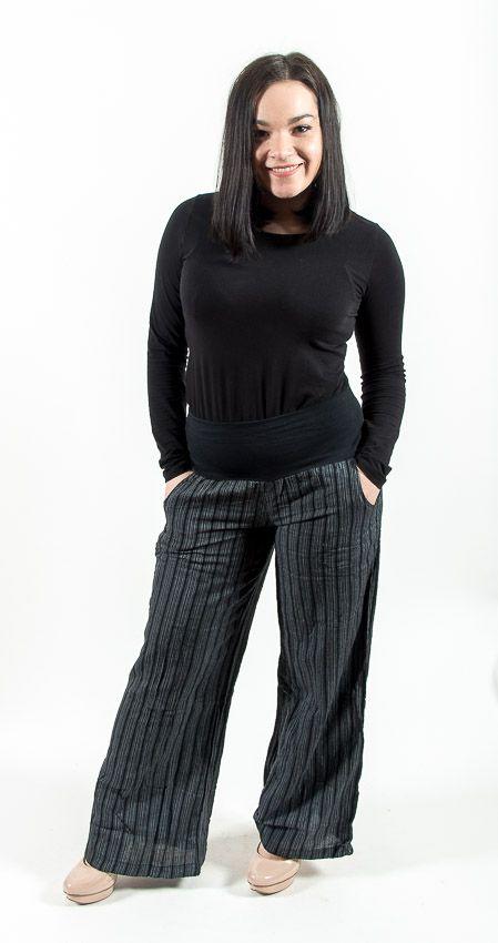 Kalhoty TEX, bavlna Nepál (dole ztahovací nohavice) NT0096 09B 003 KENAVI