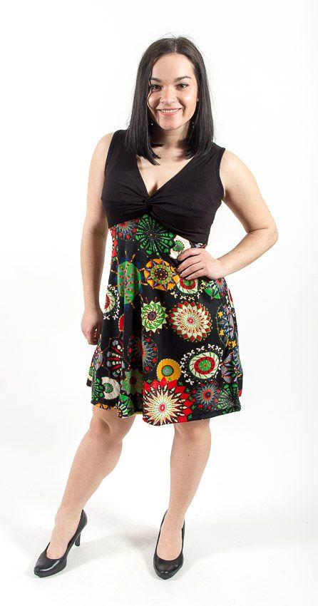 Letní šaty (šatová tunika) z pružného materiálu TT0024 0 105