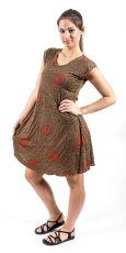 Letní šaty - tunika z pružného materiálu