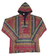 Mikina KENAVI MEXICANO, bavlna (bez podšívky), Nepál