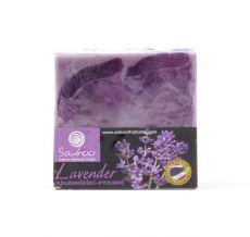Mýdlo z rostlinných produktů -  LEVANDULE