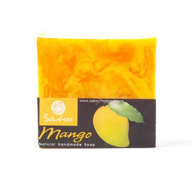Ručně vyráběné mýdlo z rostlinných produktů - MANGO 100 g TD0045 011