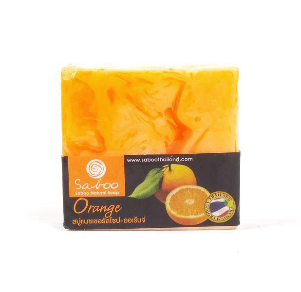 Ručně vyráběné mýdlo z rostlinných produktů - POMERANČ 100 g TD0045 006