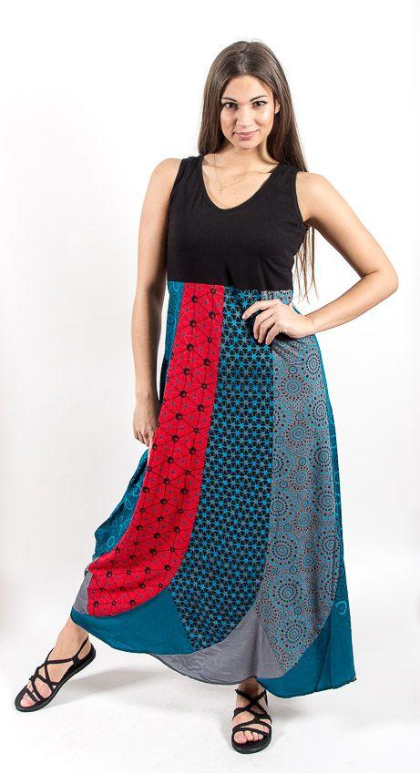 Šaty FLAMINGO- 100% bavla z Nepálu NT0048 80 002 KENAVI