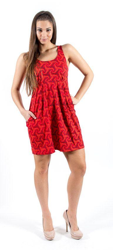 Šaty JUMMY ELITE prodloužené, bavlna Nepál NT0048 007 KENAVI