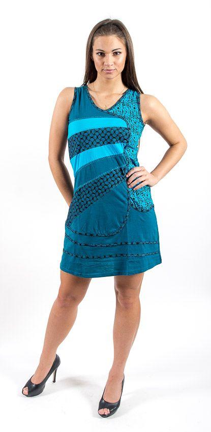 Šaty MONTERREY - 100% bavla z Nepálu NT0048 66B 001 KENAVI