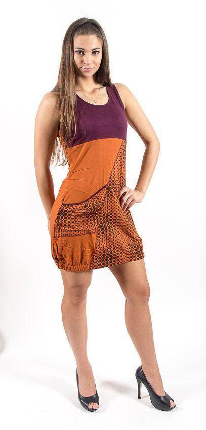 Šaty NEW ERMITA - 100% bavla z Nepálu NT0048 65 003 KENAVI