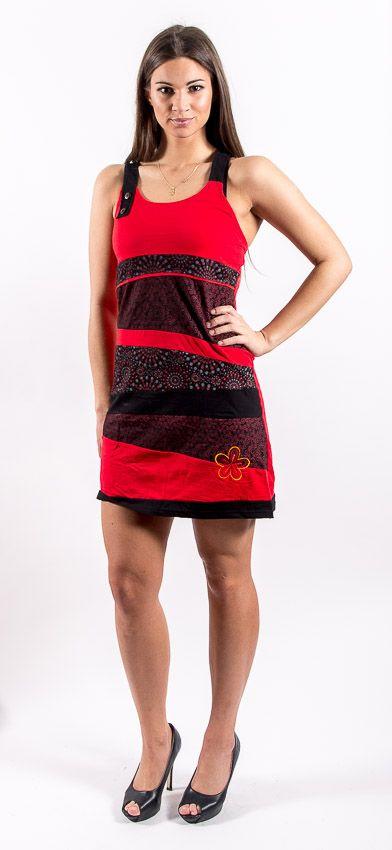 Šaty ROSSANA - 100% bavla z Nepálu NT0048 76 001 KENAVI