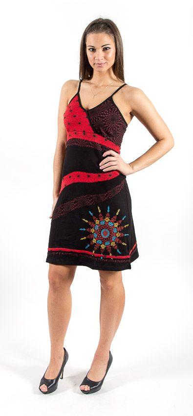 Šaty STAR- 100% bavla z Nepálu NT0048 73 002 KENAVI