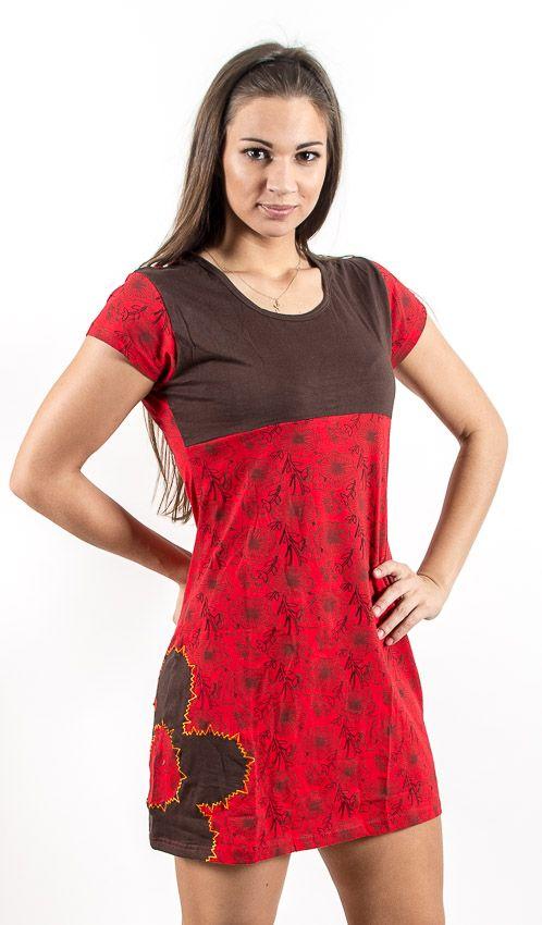 Šaty SWEET - 100% bavla z Nepálu NT0048 67 001 KENAVI