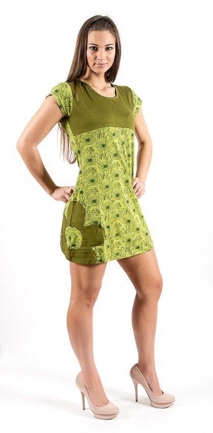 Šaty SWEET - 100% bavla z Nepálu NT0048 67 002 KENAVI