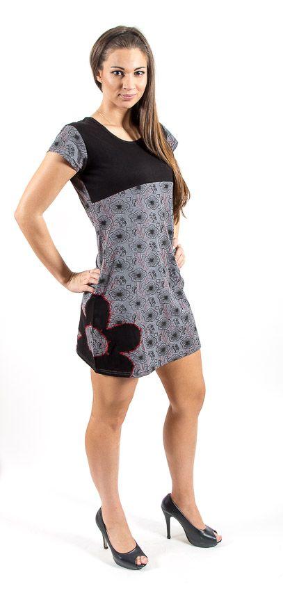 Šaty SWEET - 100% bavla z Nepálu NT0048 67 004 KENAVI