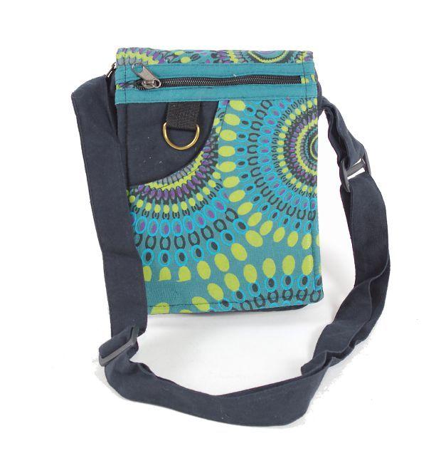 Taška na doklady BORA, kanvas, ruční výroba Nepál NT0041 04 005 KENAVI
