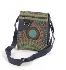 Taška na doklady BORA, kanvas, ruční výroba Nepál