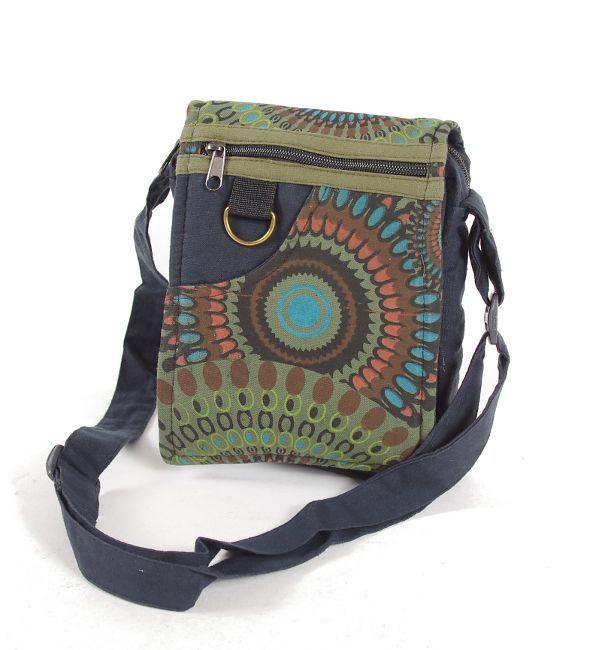 Taška na doklady BORA, kanvas, ruční výroba Nepál NT0041 04 006 KENAVI