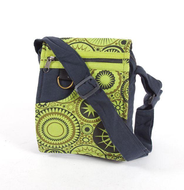 Taška na doklady BORA, kanvas, ruční výroba Nepál NT0041 04 009 KENAVI