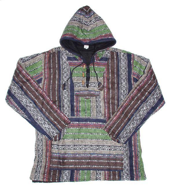 Teplá mikina KENAVI MEXICANO, bavlna s fleesem, Nepál NT0002 00 011