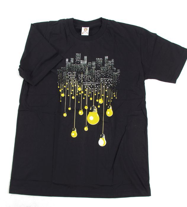 Tričko pánské s atraktivním potiskem velikost L Rocky Collection TT0025 105