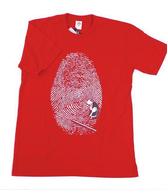 Tričko pánské s atraktivním potiskem velikost L Rocky Collection TT0025 107