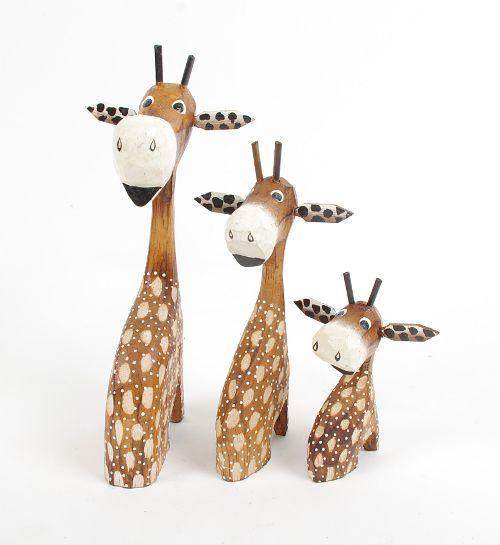Žirafí rodinka 3 žirafy dřevo ID1602609 01