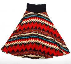 Dámská dlouhá sukně LILY LONG XTRA z teplejšího materiálu