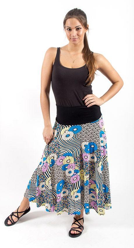 Dámská dlouhá sukně LOLA LONG z letního materiálu TT0100 01 032