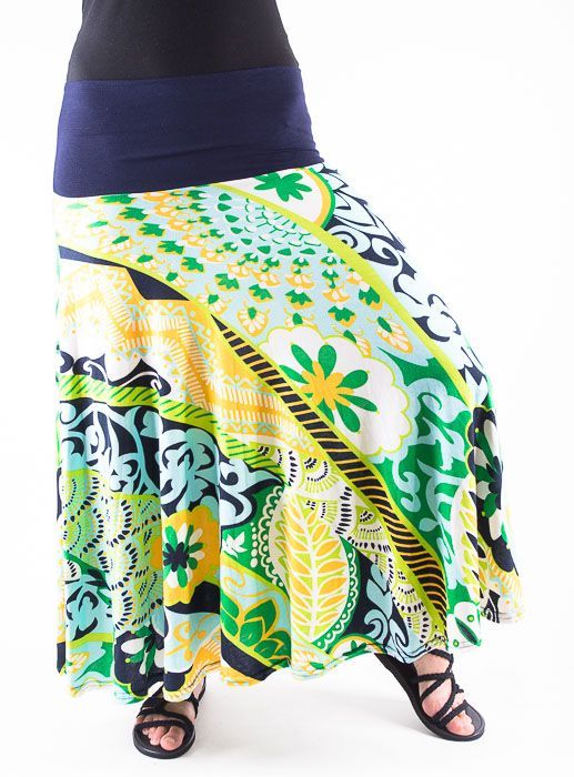 Dámská dlouhá sukně LOLA LONG z letního materiálu TT0100 01 033