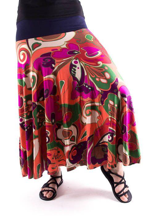 Dámská dlouhá sukně LOLA LONG z letního materiálu TT0100 01 071