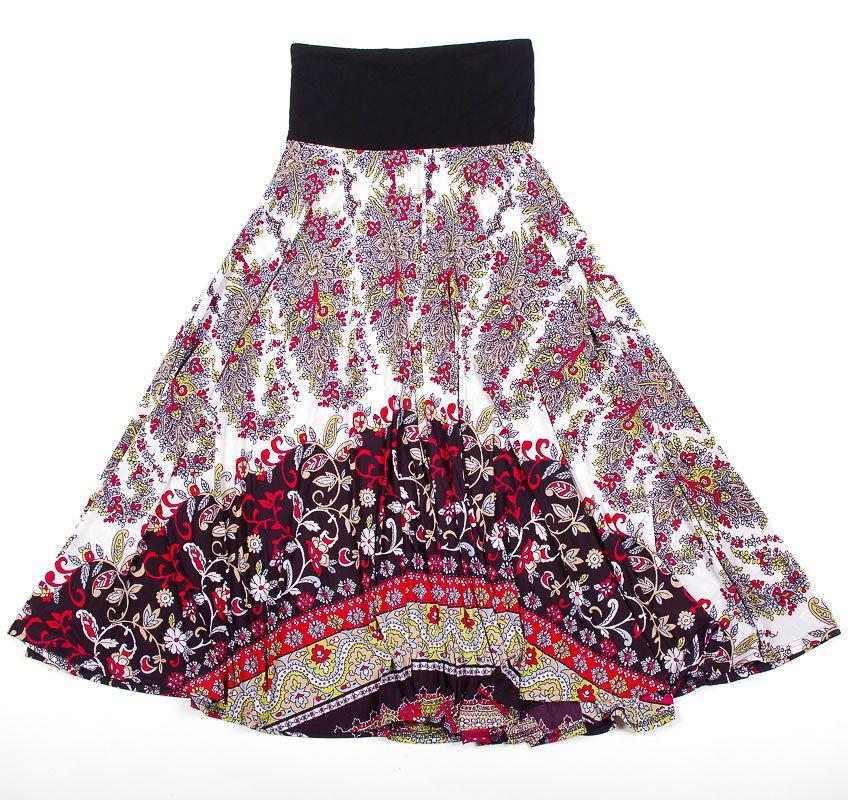 Dámská dlouhá sukně LOLA LONG z letního materiálu TT0100 01 062