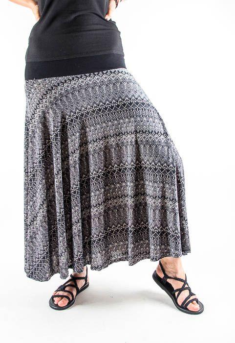 Dámská dlouhá sukně LOLA LONG z letního materiálu TT0100 01 064