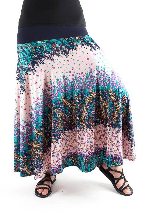 Dámská dlouhá sukně LOLA LONG z letního materiálu TT0100 01 067