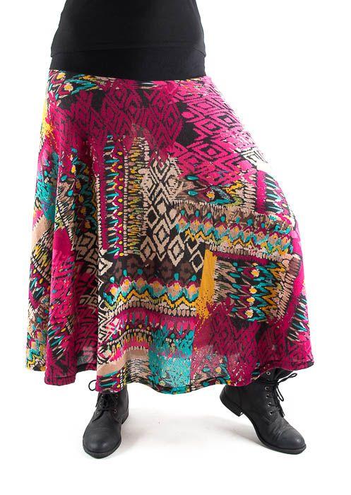 Dámská dlouhá sukně LOLA z teplejšího materiálu TT0100 01 035