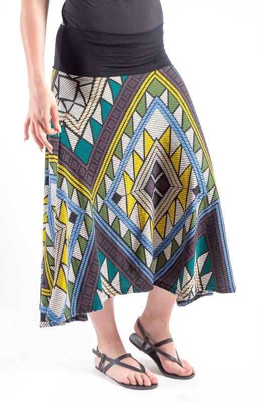 Dámská dlouhá sukně LOLA z teplejšího materiálu TT0100 01 050