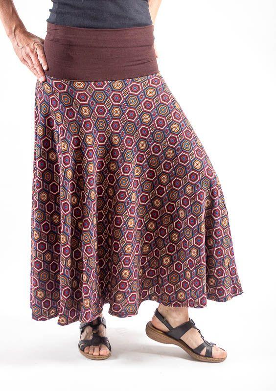 Dámská dlouhá sukně LOLA z teplejšího materiálu TT0100 01 052