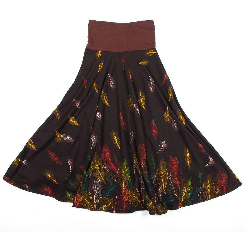 Dámská dlouhá sukně LOLA z teplejšího materiálu TT0100 01 054
