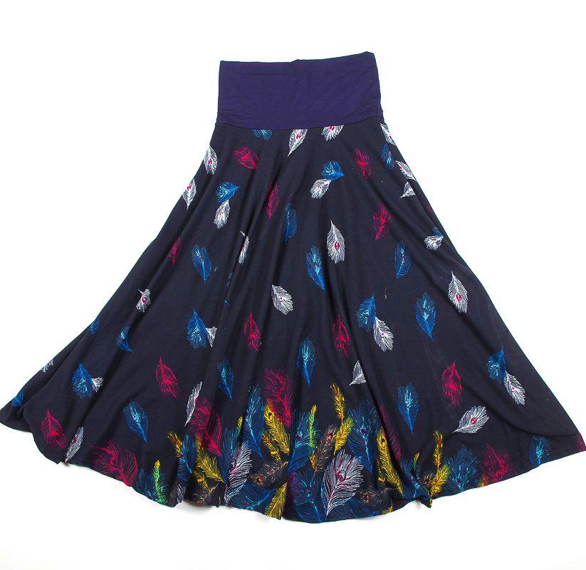 Dámská dlouhá sukně LOLA z teplejšího materiálu TT0100 01 055