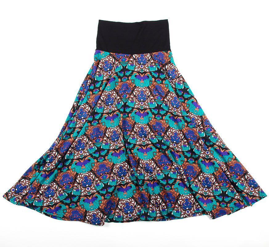 Dámská dlouhá sukně LOLA z teplejšího materiálu TT0100 01 056