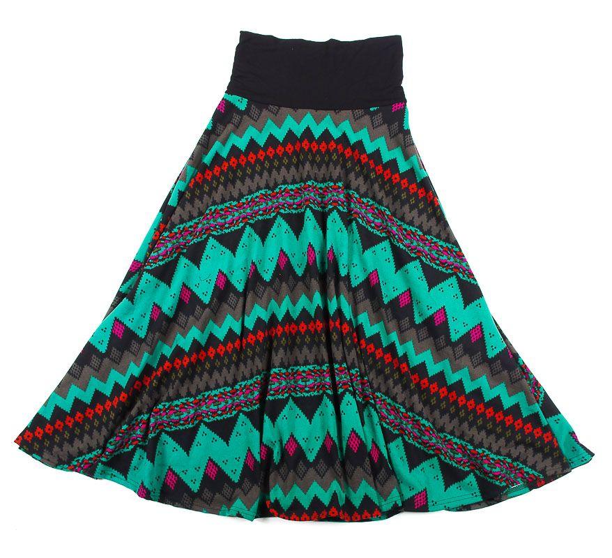Dámská dlouhá sukně LOLA z teplejšího materiálu TT0100 01 059