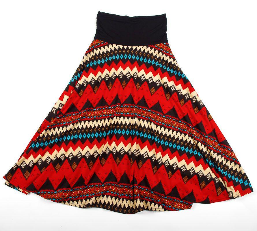 Dámská dlouhá sukně LOLA z teplejšího materiálu TT0100 01 060