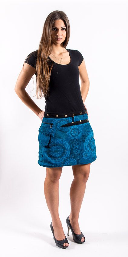 d950e862f39 Dámská krátká zimní sukně YETTI 1