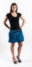 Dámská krátká zimní sukně YETTI 1, bavlna Nepál NT0101 12BA 001 KENAVI