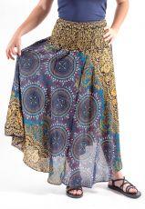 Dámská letní dlouhá sukně NICOL 2, viskóza Thajsko